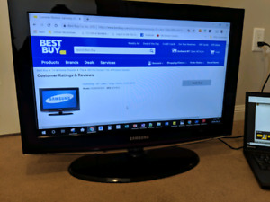 "Samsung 26"" TV - Works perfect"