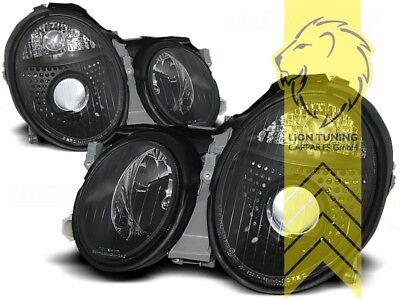 Design Scheinwerfer für Mercedes Benz CLK C208 Coupe A208 Cabrio schwarz