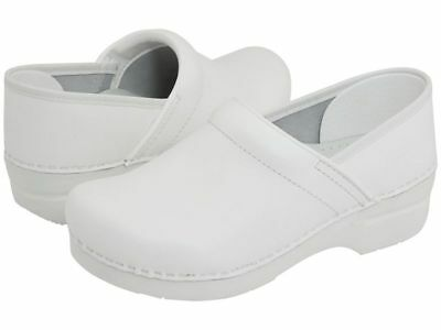 Women's Dansko Professional Clogs White Box Leather ()