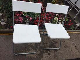 2x JEFF foldable chairs from IKEA