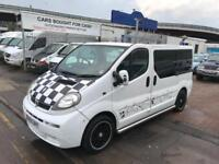 VAUXHALL VIVARO CAMPER FULLY FULLY LOADED WITH EVERYTHING PERFECT DAY VAN NO VAT