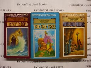 """""""Second Chronicles of Thomas Covenant"""" by: Stephen R. Donaldson"""