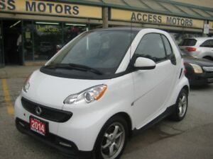 2014 Smart Fortwo, Immaculate Condition, Navigation, Sunroof