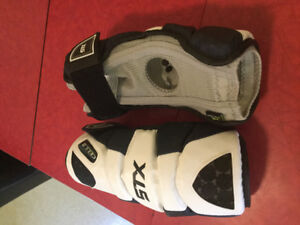 Elbow pads for field lacrosse