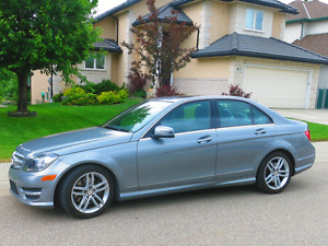 2013 Mercedes-Benz C300 4Matic Sedan