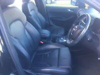 Audi Q5 Full Black S Line Leather Seats Trim Interior