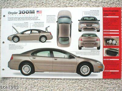 1998 / 1999 Chrysler 300M 300-M IMP Brochure