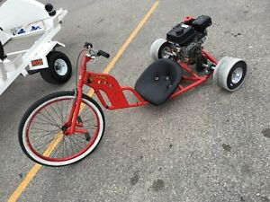 A couple of SICK rides Drift Trikes and Trailer
