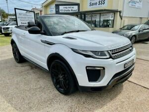 2016 Land Rover Range Rover Evoque LV MY17 TD4 180 SE Dynamic White 9 Speed Automatic Convertible