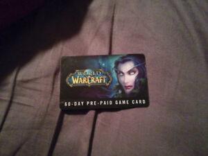 Carte world of warcraft