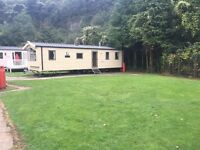 Cheap 3 bedroom caravan for sale in Tenby near Saundersfoot 2017 site fees included