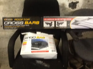 Car roof rack and soft bag
