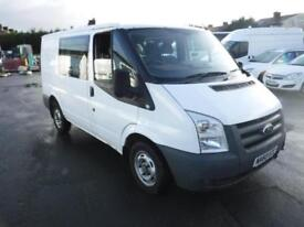 FORD TRANSIT DOUBLE CAB CREW VAN White Manual Diesel, 2010