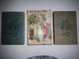 Five Little Peppers books
