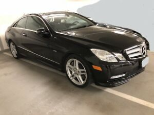 2012 Mercedes-Benz E550 Coupe