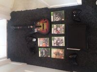 Xbox 360 120GB HDD With 6 Games + other accessories