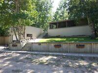 Lakefront year round cabin - martins lake