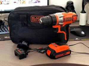 Black & Decker 20V Cordless Drill/Driver