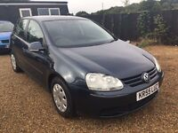VW GOLF 1.4 S 5DR 2005 IDEAL FIRST CAR CHEAP INSURANCE TONS OF HISTORY EXCELLENT CAR