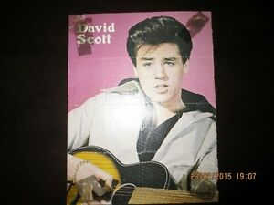 Photo de David Scott 1979(Immitateur d'Elvis) Magazine original