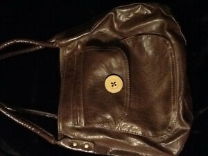 Brown hobo style purse