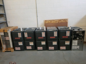 Like new used Goodman lennox furnaces high efficiency