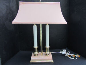 CANDLESTICK TABLE LAMP WITH SHADE