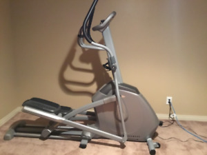 Vision Fitness Elliptical for sale - $250.00. Pick up only.