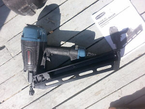 Never Used Framing Nailer (Pro Point 3-1/2 In 28*)