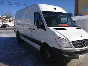 "2013 MERCEDEZ SPRINTER 3500 CARGO VAN 170""EXT HIGH ROOF"
