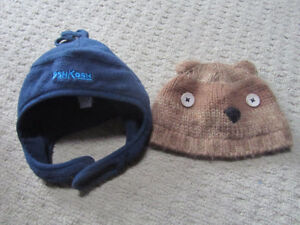 2 winter hats