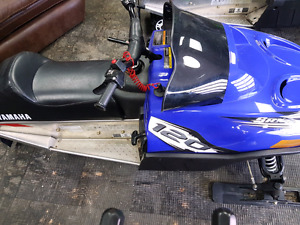 Arctic cat plus Yamaha 120cc snowmobile