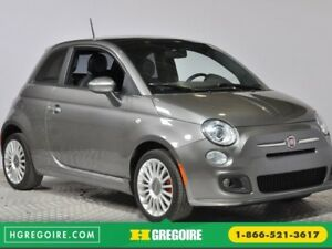2012 Fiat 500 Sport A/C GR ELECT TOIT MAGS