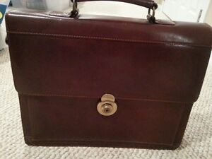 Briefcase - Genuine Leather - New