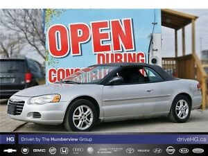 2004 Chrysler Sebring Limited LOW KM ALLOYS UPGRADED STERIO 