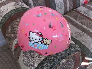 Hello Kitty Helmet and Bike Bell