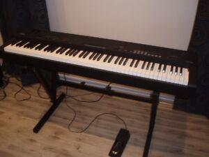 Piano portatif Yamaha CP40 stage