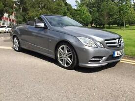 2013 Mercedes Benz E Class E200 BlueEFFICIENCY Sport 2dr Tip Auto 2 door Conv...