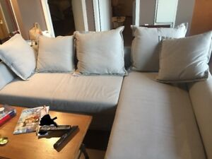 Like-new Corner sofa-bed (IKEA) for Sale Downtown Hamilton