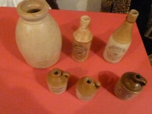 Antique Crockery/Jugs/Old Tools, etc