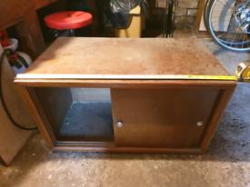 Cupboard TV stand