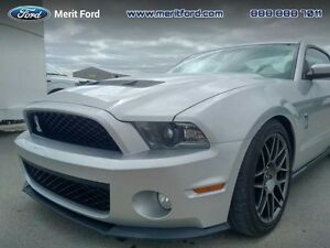 2012 Ford Mustang Shelby GT500  - out of province - one owner -