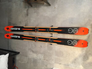 Blizzard Zero G 108 Skis (178cm) with G3 Ion Bindings