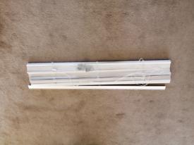 27mm white wooden blinds