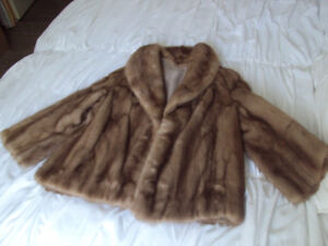 Mink Stole (Probably one size fits all) Label reads: