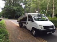 2010-10-Reg ldv maxus 2.5 diesel alloy body tipper free nationwide same day doorstep delivery