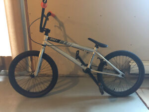 Haro 200.1 BMX with 25 tooth sprocket.