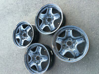 4 Ford Fusion Rims with Sensors