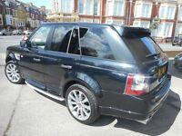 Land Rover Range Rover Sport TDV6 AUTOBIOGRAPHY (met black) 2011