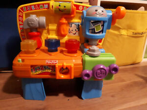 Varios baby and toddler tool tots and tool bench